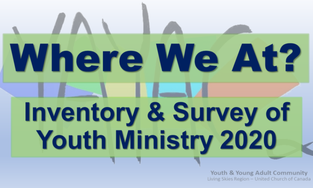 Where We At? Inventory & Survey of Youth Ministry 2020