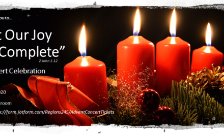 "Advent Concert Encore Presentation(s) – YouTube Link: ""So That Our Joy May Be Complete"""
