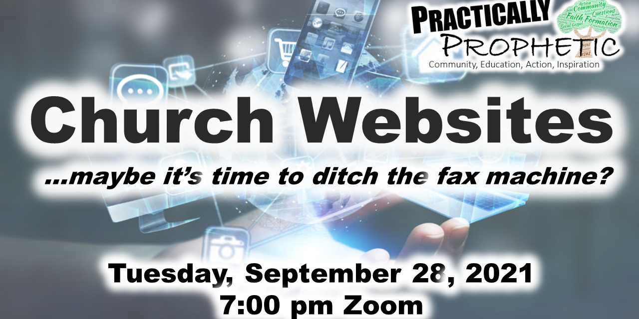 Church Websites (Practically Prophetic Webinar)
